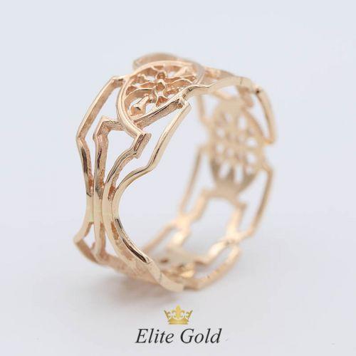 Дизайнерское кольцо Finola с цветочным узором