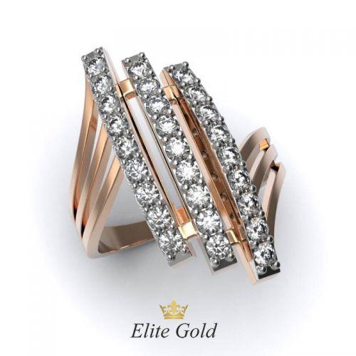 Элегантное женское кольцо Brillar в камнях