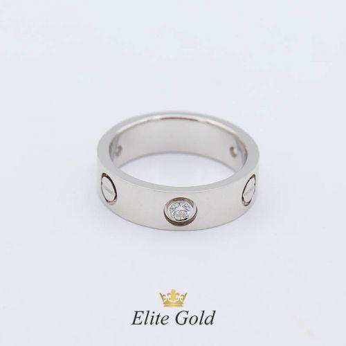 в белом золоте с бриллиантами