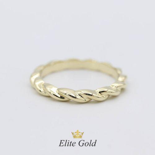 Тонкое изящное кольцо Tiaret в виде переплетающихся линий