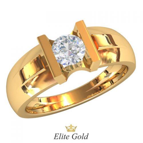 Дизайнерское женское кольцо Femminilita с камнем