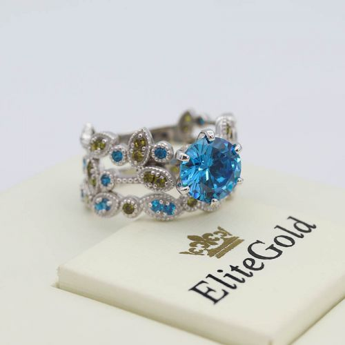 Авторский набор колец невесты - Viviana Bridal Set