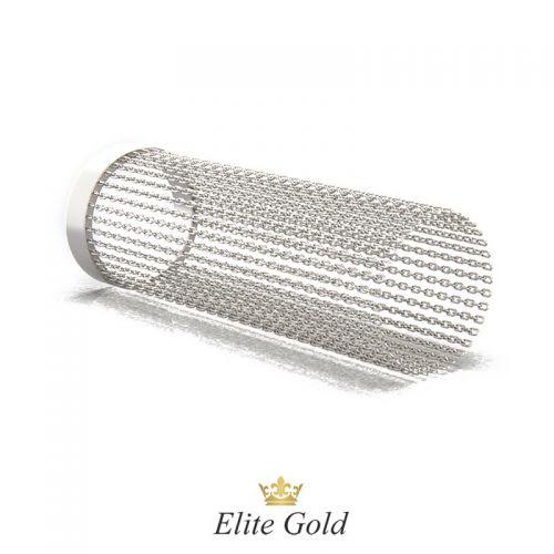 кольцо Cascada с тонкими цепочками