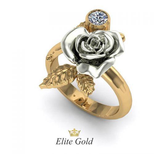 Эксклюзивное кольцо Rosa selvatica