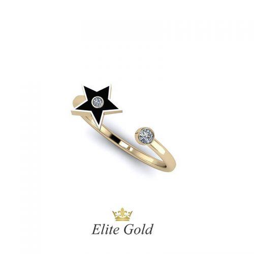 Дизайнерское кольцо Star