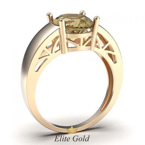 кольцо Soledad - вид сбоку