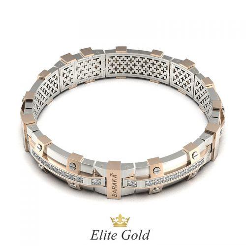 браслет в стиле бренда Барака - вид на замок