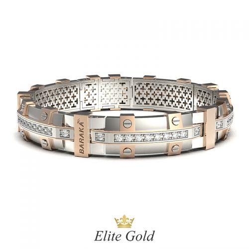 браслет в стиле бренда Барака - вид спереди