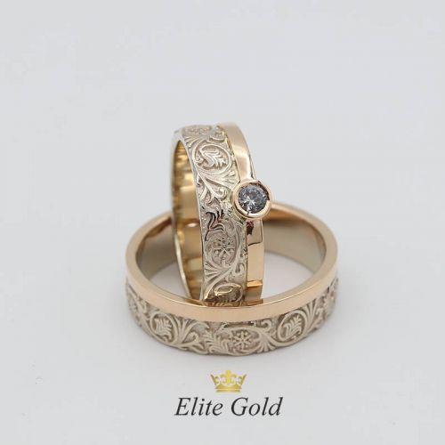 Винтажные обручальные кольца Verena