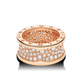 кольцо в стиле имдпфкн zero 1 diamonds красное золото
